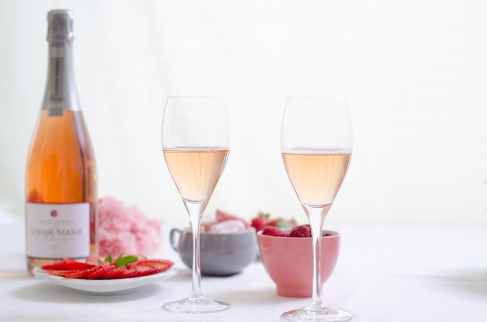 Champagne Louise Marie Bennezon rosé